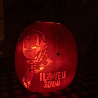 How to Carve Iron Man