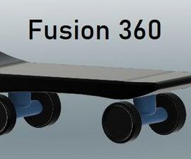 Skateboard on Fusion 360
