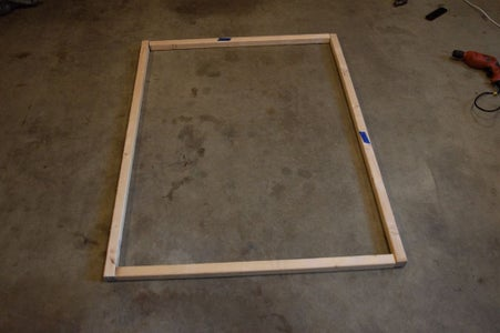 Assemble the Wood Frame