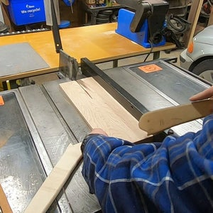 Making the Dividers Part 1 - Cutting to Width and Length