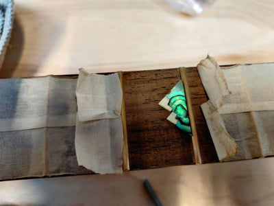 Inlay Pt. 3: Inlaying the Fretboard