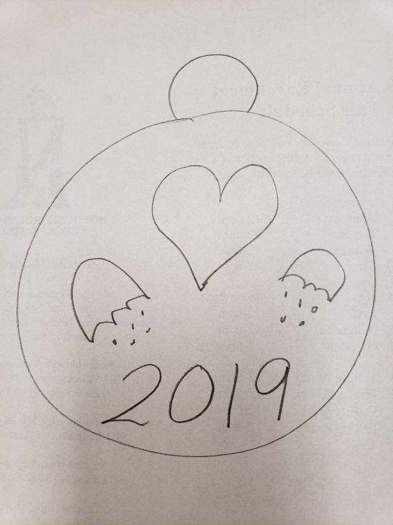 Picture of Sketch Personalized Medal