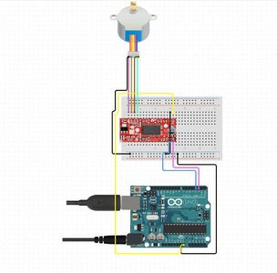 Interfacing Stepper Motor With Arduino Uno