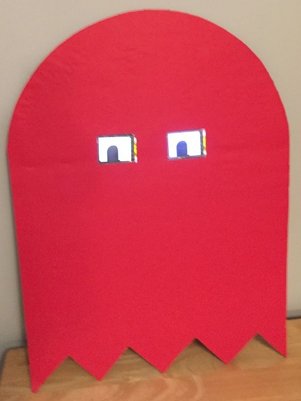 Picture of Arduino Pac-Man Ghost Costume