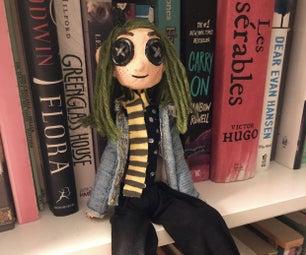 "Coraline ""Mini Me"" Doll DIY"