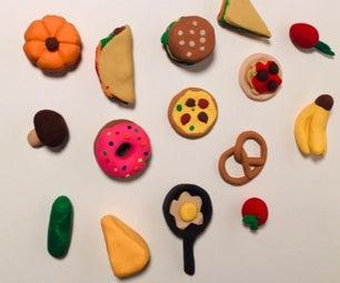 Miniature Clay Food