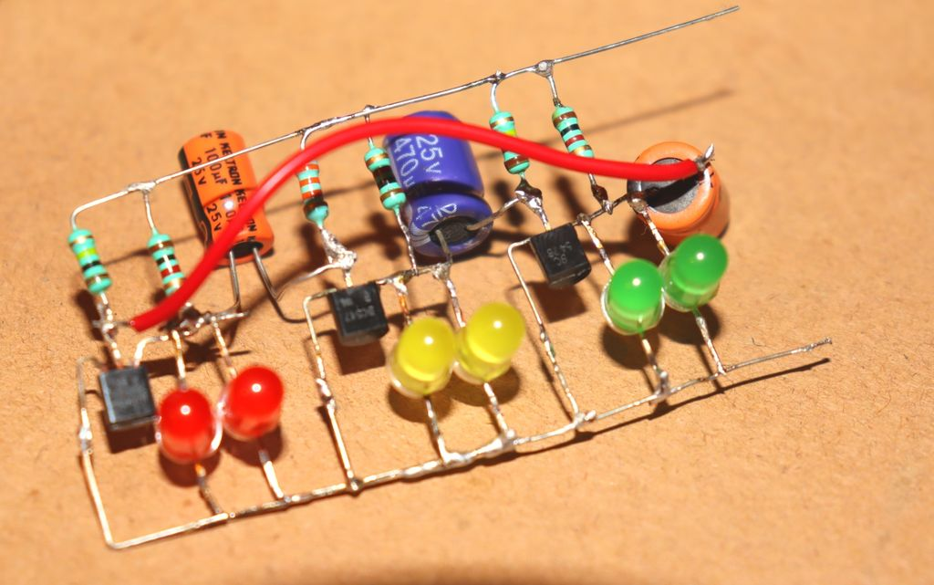 Picture of Connect +ve Pin of 2nd 470uf Capacitor