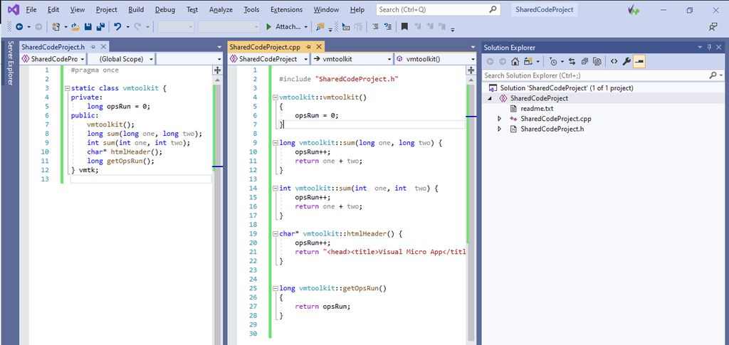 Picture of Create Shared Project Code