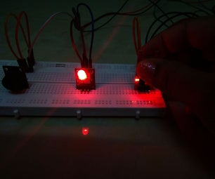 Prototype - Alarm Device Using a Human Touch Sensor (KY-036)