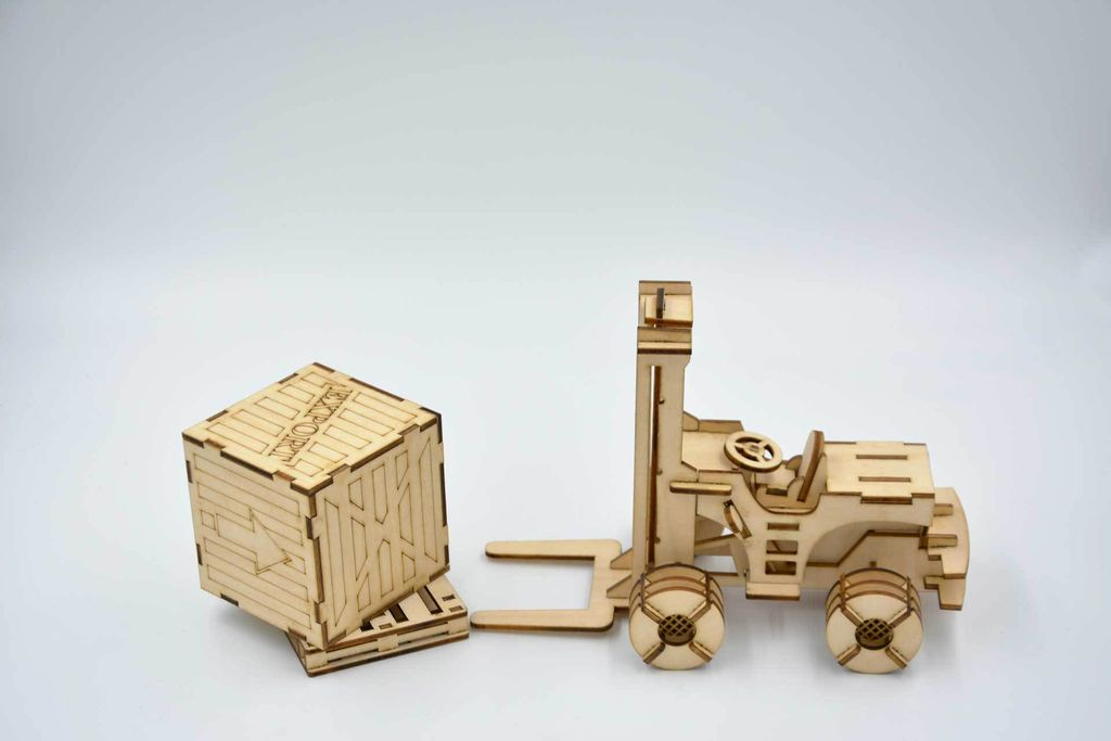 Picture of How to Make a Forklift