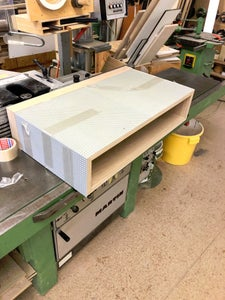 Cutting the Mitters and Glue-up