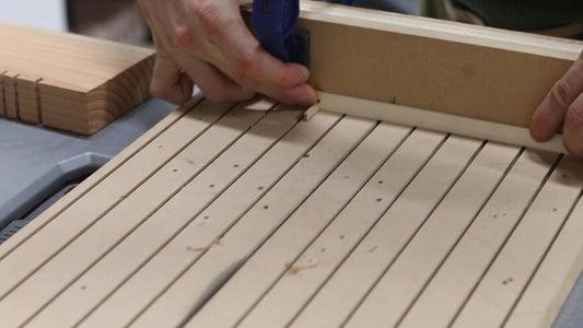 Making the Kumiko Panels