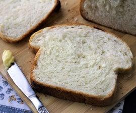 防故障的白三明治面包(几乎不揉)