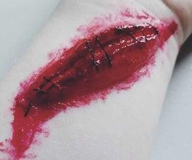 Halloween Fake Wounds