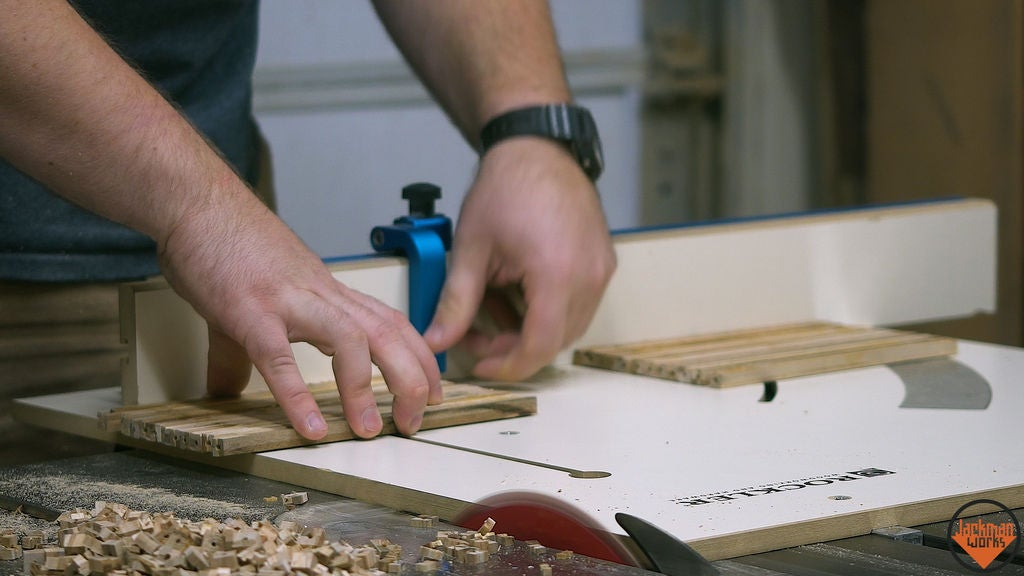 Picture of Cutting Blanks to Length