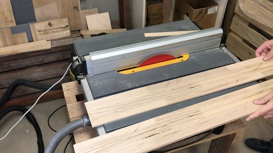 Preparing Wood for the Head