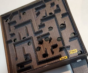 Easy Hand Marble Maze
