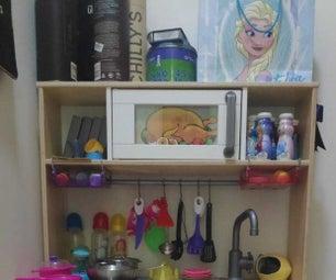 IKEA DUKTIG -  Kids Kitchen - Microwave Upgrade