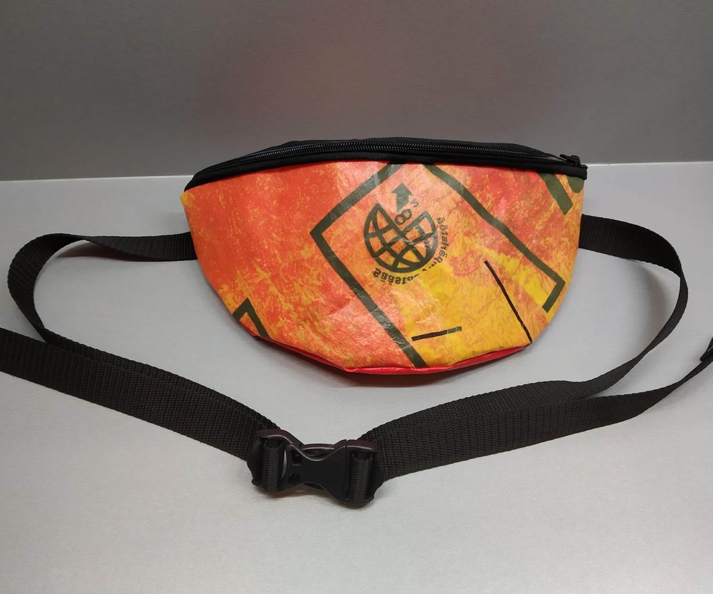 Fanny Pack From Plastic Bags
