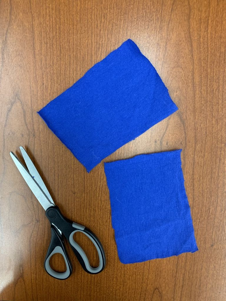 Picture of Cutting the Fabric