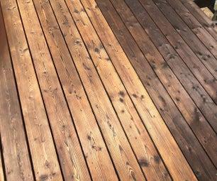 如何寿杉禁燃木甲板上板 - 新手指南