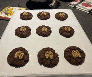 Delectable Double Chocolate Cookies