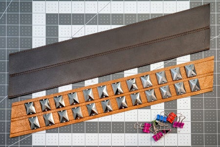 Attaching the Top Belt Strap
