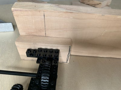 Wood Supports: Laser