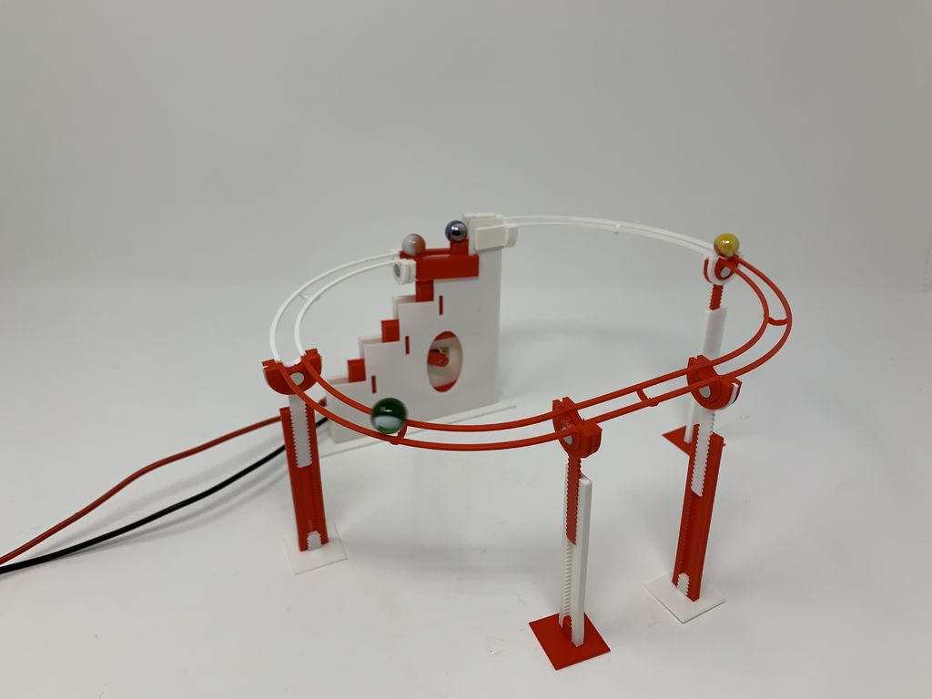 Picture of Marblevator, Magnetic Tracks