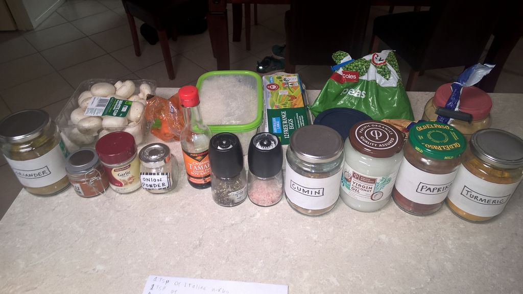 Picture of Gather the ​ingredients