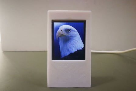 Cheap & Cute PhotoFrame Without SD Card on ESP8266 + 1.8inch TFT