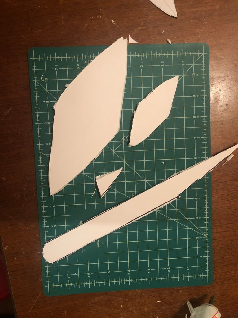 Picture of Cut Out the Pieces of the Glider