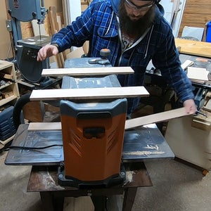 Making the Dividers Part 2 - Resawing the Planing