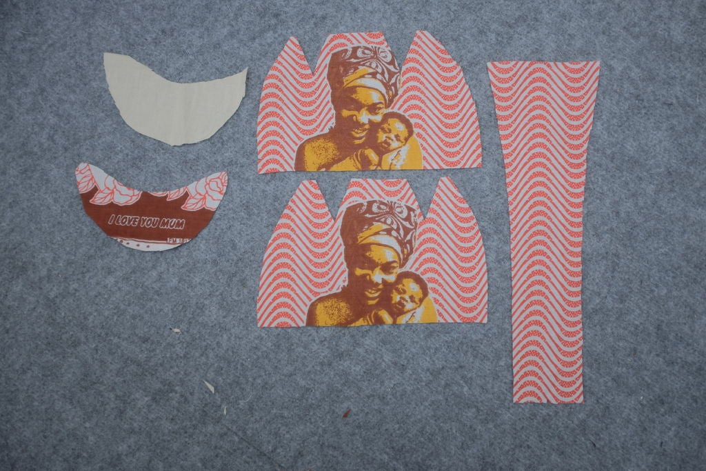 Picture of Print Out Pattern & Cut Material