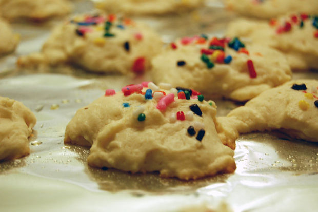 Cream Cheese Xmas Cookies.