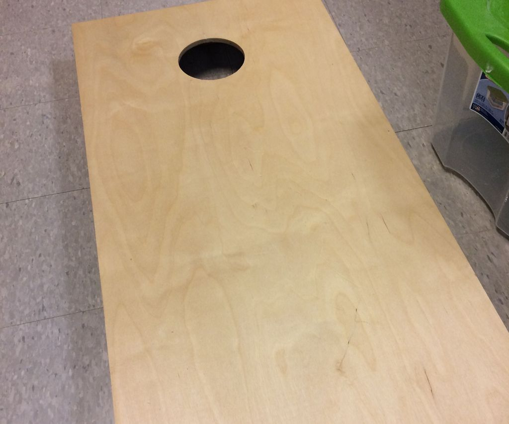 Corn Hole Board! (no One Has Ever Made an Instructable Like This Before)