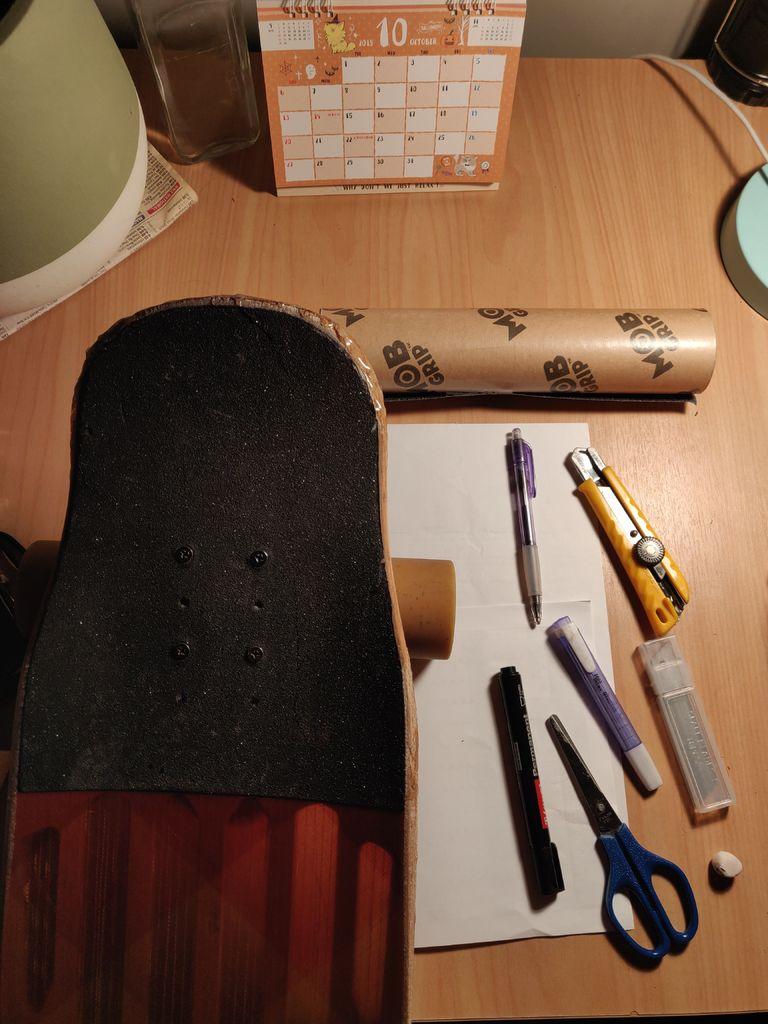 Picture of Skateboard/Longboard Griptape Design