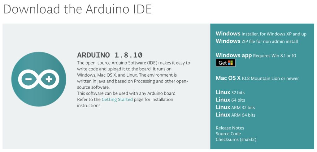 Picture of Downloading of Arduino