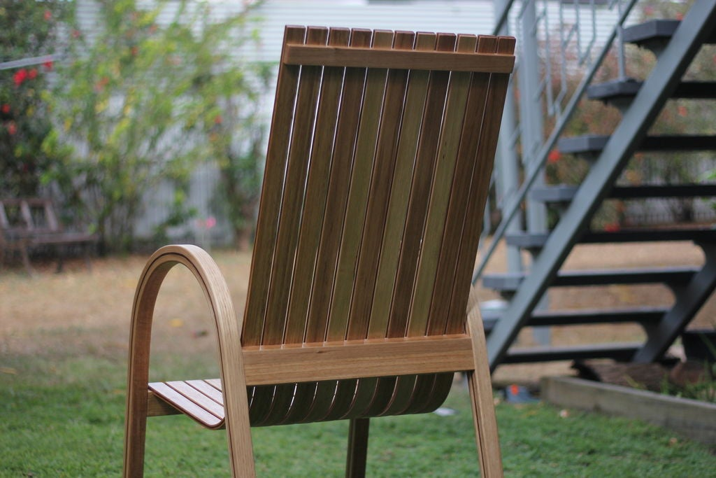 Picture of Modern Steam Bent Chair