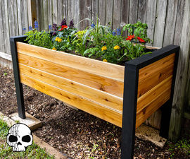 How Make a DIY Raised Planter Box
