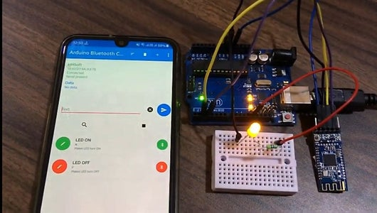 Testing the BLE Module