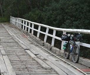 牛奶箱自行车包装笼为自行车旅游