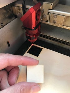 Cut a One-inch Square