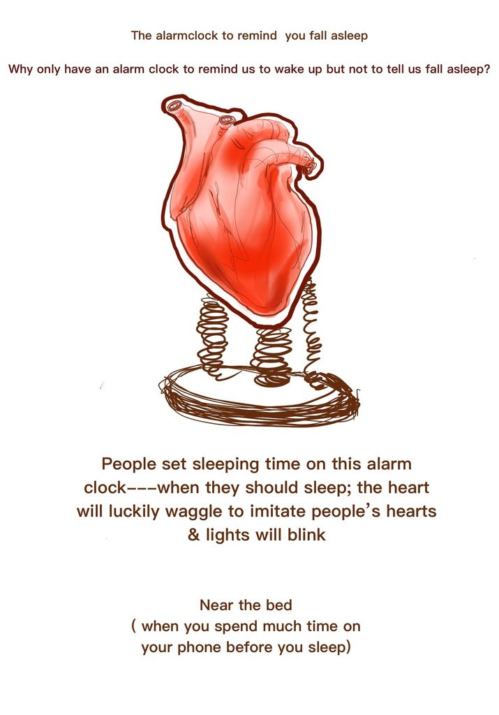 Picture of Heart Light & Clock