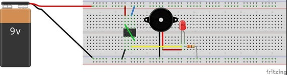 Building the Circuit on a Breadboard