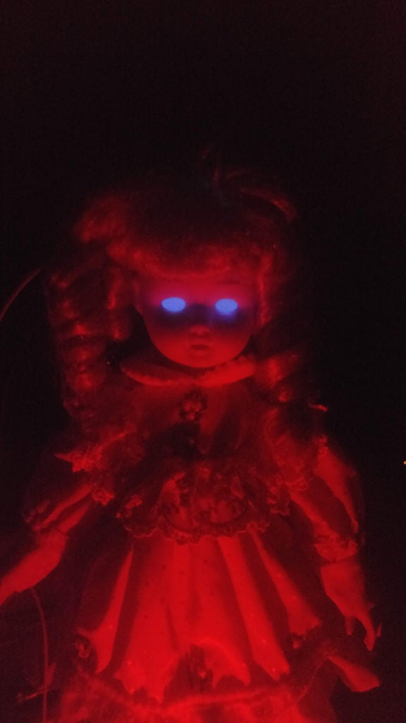 Picture of Intermediate Results: Zombie Eye Doll!