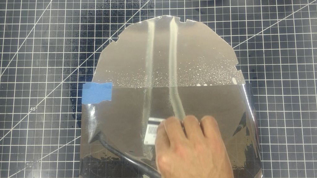 Picture of Cut and Prepare the Aluminum Mirror