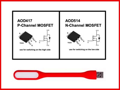MOSFETs for Switching High-Current Loads