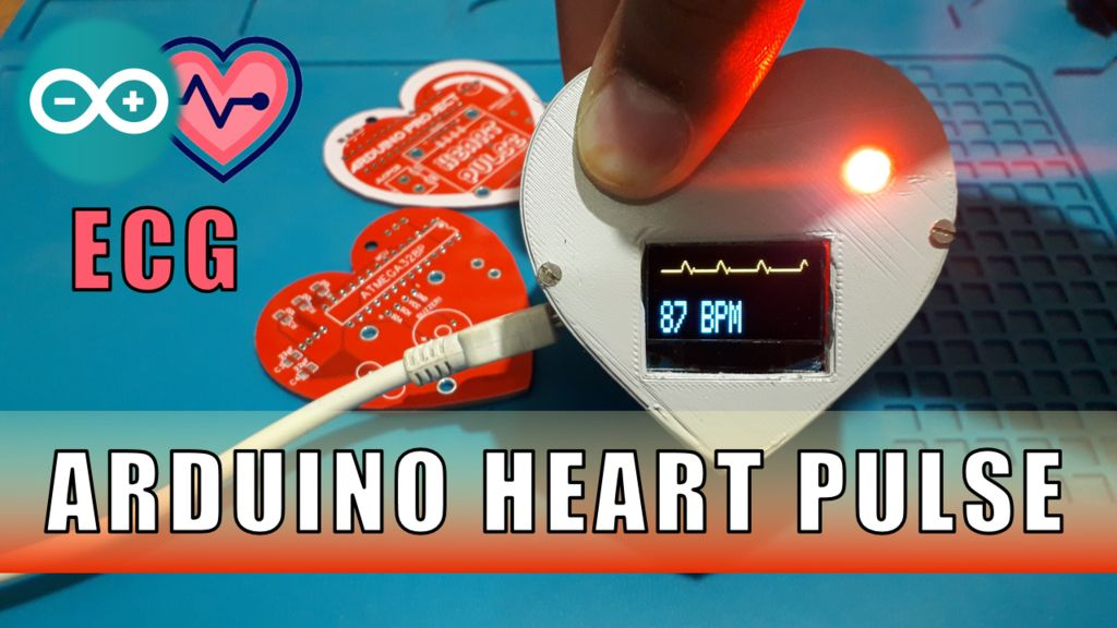 Picture of Arduino Heart Beat With ECG Display & Sound