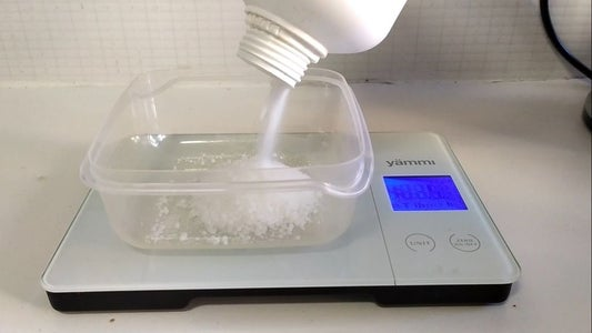 Mix Your Sodium Hydroxide